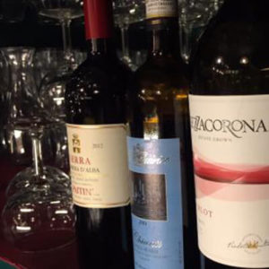 Italian Wine and Full Bar with House Cocktails